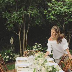 #floralfridays summer entertaining outside is my favorite.