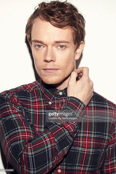 Actor Alfie Allen is photographed on March 12, 2015 in London, England.