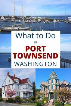 Port Townsend Washington, Washington State, Washington Camping, Tacoma Washington, Weekend Trips, Weekend Getaways, Solo Travel, Travel Usa, Oregon Travel