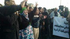 Madrid,24/01/17(SPS)-. Este lunes se han producido concentraciones en varias ciudades europeas en apoyo a los presos politicos saharauis con motivo del juicio en Rabat contra 24 presos políticos saharauis del grupo de Gdeim Izik.