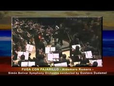 FUGA CON PAJARILLO - conducted by Gustavo Dudamel (full video - HD) - YouTube