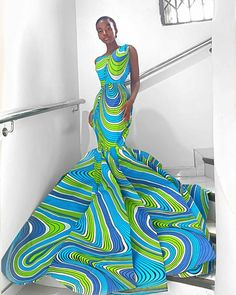 African Lace Dresses, Latest African Fashion Dresses, African Dresses For Women, African Print Fashion, African Attire, African Outfits, African Prints, African Traditional Wedding Dress, Traditional Outfits