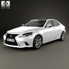 3D Model Lexus Xe30 F - 3D Model