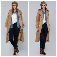 Trenchcoat  #fashion #styling #studio #shoot #winter #studioshooting #street #style