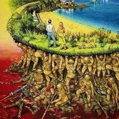 Sometimes it's easy to forget how we got here. Lest we forget.