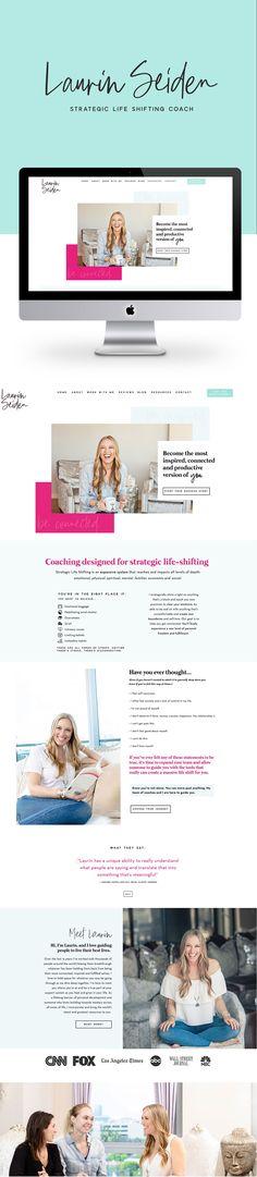 117 Best Life Coach Websites And Brand Design Images In 2020 Life Coach Websites Showit Life Coach