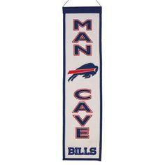 Buffalo Bills Man Cave Banner from ManCaveGiant.com