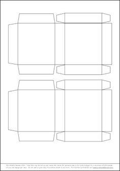Box+Templates+Free   ... Christmas Mono - Project - Snowflake Mono Gift Box - Printable Heaven