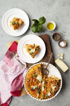 Spaghetti Quiche