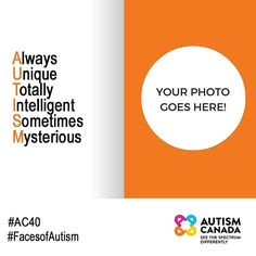Calling for #FacesofAutism photo submissions. If you are on the #autism spectrum or are a parent or legal guardian of a loved one on the spectrum you are invited to participate. Please send your high resolution photo(s) to photo@autismcanada.org with the permission statement that applies to you: I am submitting a photo of myself and I am of 18 years of age or older. I hereby irrevocably consent to and authorize its use and reproduction by Autism Canada in marketing awareness and fundraising…