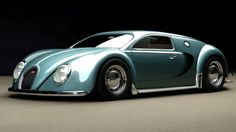 Retro Fantasy: The 1945 Bugatti Veyron