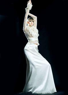 Unikatowe suknie ślubne, wedding dresses - Suknia ślubna venika w stylu vintage