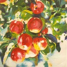 """1"""" brush impressionistic painting"""