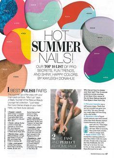 Hot Mani/Pedi Combos - Style - NAILS Magazine