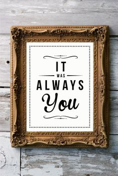 Retro Inspirational Quote Giclee Art Print - Vintage Typography Decor - Customize - Always You UK. £15.00, via Etsy.