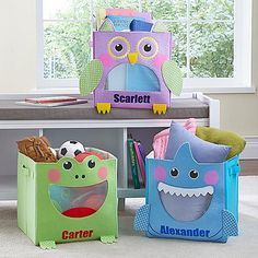 Little Critter Toy Bin | Personal Creations