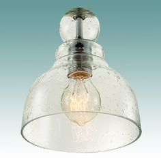 #8918 S - Seeded Glass Pendant - Glass Lampshades