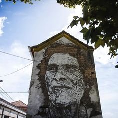 VHILS  .. for ESTAU ..  [Estarreja, Portugal 2017]