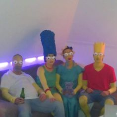 Diy Simpsons costume carnaval