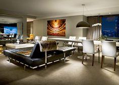 Las suites cuentan con un comedor y una sala.   Galería de fotos 4 de 11   AD MX
