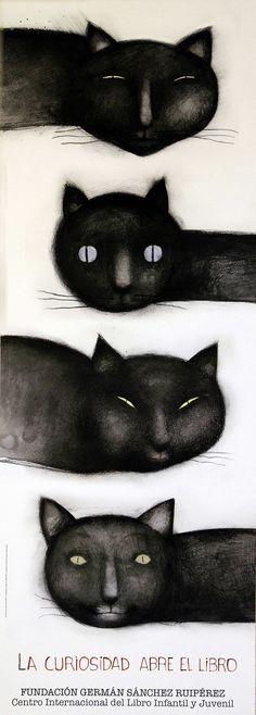 La Curiosidad abre el libro / Ilustración Ana Juan (2011)