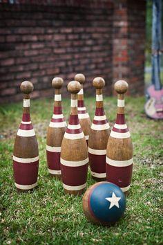 Lawn Games- bowling, horse shoes, croquet, ladder ball, bag toss, jumbo jenga, twister, bocce ball