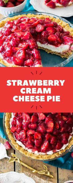 Strawberry Cream Cheese Pie | ALL NEWS