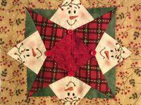 1000+ images about Snowmen Blocks: Splendid Sampler on Pinterest