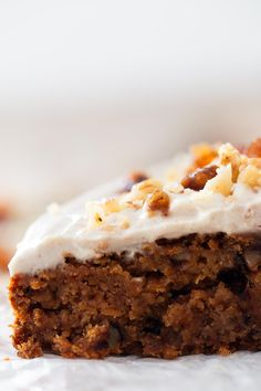 This amazing vegan carrot cake is made with healthy ingredients and is also gluten and oil free. You can enjoy this treat and take care of your body.