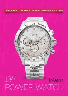 d85dd0e9fa4 Conheça o novo relógio Power Watch DVF by H.Stern. Perfeito para mulheres  poderosas