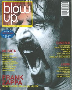 """2012-12 Blow Up is a monthly Italian magazine about """"rock & other contaminations"""", as the caption states: out rock, electronica, techno, house, experimental, industrial, improv/jazz, traditional. Blow Up was born a fanzine in September 1995, and remained a fanzine for six issues until it was officially reborn as a magazine in February 1997."""