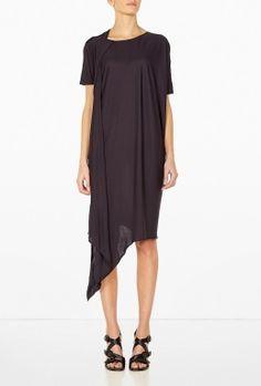 Tammi Jersey Drape Dress by Acne