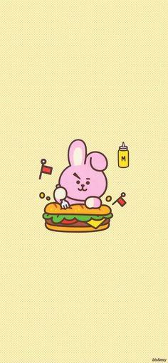 Bts Taehyung, Bts Bangtan Boy, Jimin, Bt 21, Korean Words, Line Friends, Bts Chibi, I Love Bts, Cute Cartoon Wallpapers