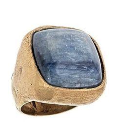 Olga Prieto Kaynite Seal Ring - Max and Chloe - StyleSays Max And Chloe, Fellowship Of The Ring, Labradorite, Jewelry Accessories, Fashion Jewelry, Gemstone Rings, Jewels, Shoe Bag, Gemstones