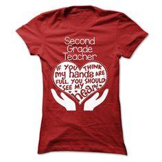 SECOND GRADE TEACHER FULL HEART T-Shirts, Hoodies. VIEW DETAIL ==► https://www.sunfrog.com/Geek-Tech/SECOND-GRADE-TEACHER-FULL-HEART-T-SHIRTS-Ladies.html?id=41382