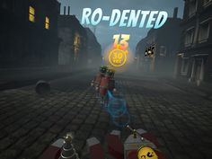 Ro-dented ....see what we did there? Rodent....dented...because it was....oh work it out yourself!  #Steampunk #Arcade #Shooter ? #VR #Adventure #Story #Viveport #Oculus #HTCvive http://www.steamhammervr.com?utm_content=buffer051e8&utm_medium=social&utm_source=pinterest.com&utm_campaign=buffer
