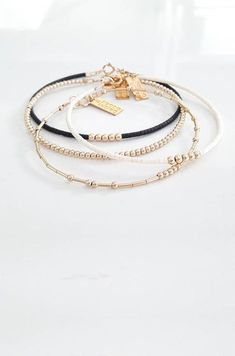 Simple Delicate Gold Bracelet, 14k Gold Filled / Dainty Chain, Custom Made / Everyday Bracelet, Thin Gold Chain / Layering bracelet, Bridesmaids Gift Details: - Tiny 14k gold filled tubes and beads - GOLD FILLED findings and clasps, 24 gold plated flexible wire This listing is for one