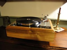 A customers thorens td160, that i built