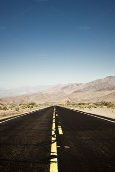Road in the Desert by EBStudio on @creativemarket