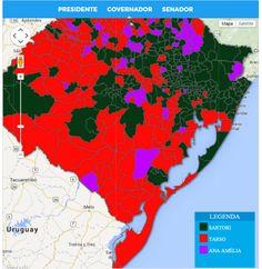 Resultados no Rio Grande do Sul
