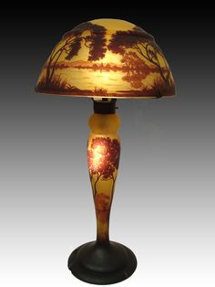 By Daum brothers, from the 20th Century - Art Noveau Made in France