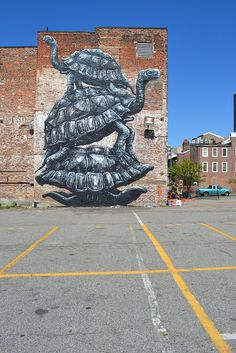 RICHMOND (US)-the Richmond Mural project by ROA !, via Flickr