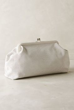 Clare Vivier Kisslock Clutch Cream One Size Clutches on shopstyle.com
