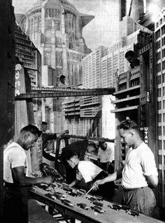 "behind the scenes / filming ""Metropolis"" plus 24 other behind the scenes movie photos"