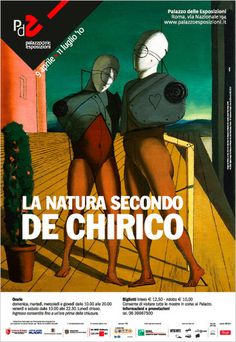 """""""La #natura secondo #deChirico"""" - #PalazzodelleEsposizioni - #Roma  #pittura #scrittura #arte #metafisica"""