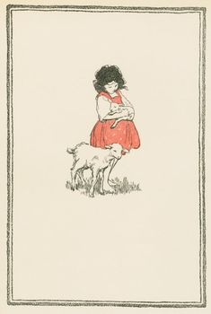 Jessie Willcox Smith - Heidi illustration via the Handmade Librarian
