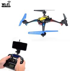 NiHui U807 FPV WiFi RC Quadcopter 2.4G 4CH Helicopter Drone with 0.3MP Camera Live Video Transmission Remote Control Toy As Gift