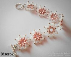 delicate beaded bracelet w/: twin or superduo & rocaille 10/0 #Seed #Bead #Tutorials