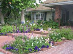 cottage garden design stepping stone paths stone paths and heuchera - Garden Design Cottage Style