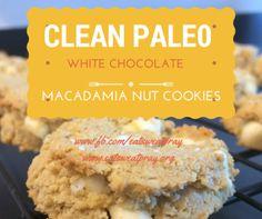 Clean/Paleo White Chocolate Macadamia Cookies